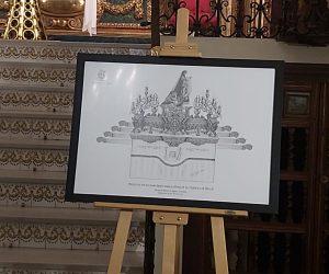 Boceto nuevo trono Verónica